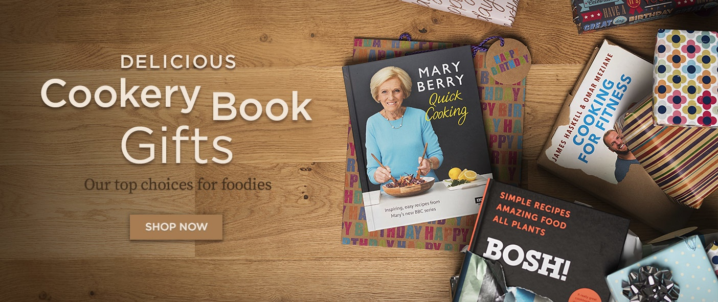 Delicious Cookery Book Gifts