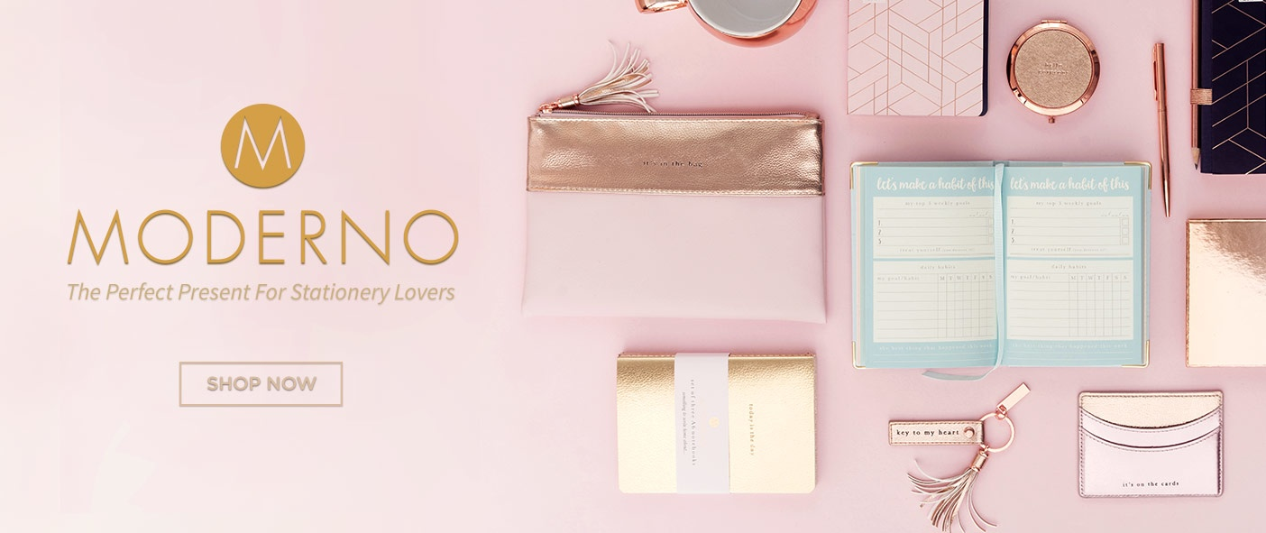 Moderno - The Perfect Present for Stationery Lovers
