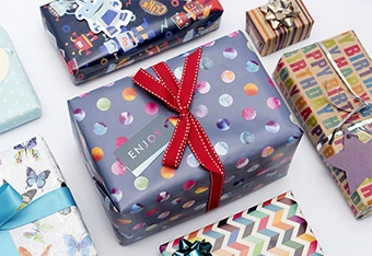 Wrapping Paper and Accessories
