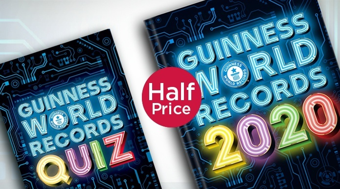 Guinness World Records 2020 – HALF PRICE