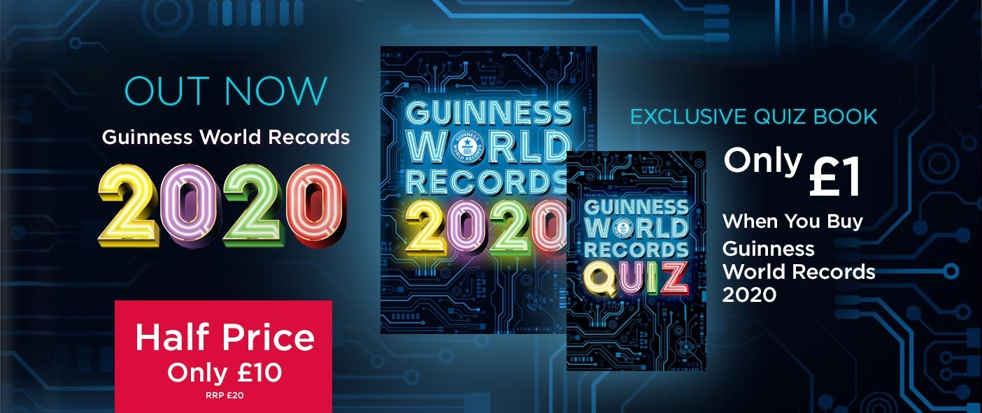 Guinness World Records 2020, OUT NOW, Only £10