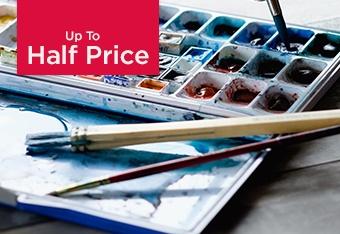 Up to Half Price Art & Craft