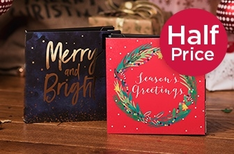Half Price Christmas cards