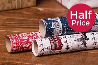 Half Price Christmas Wrap