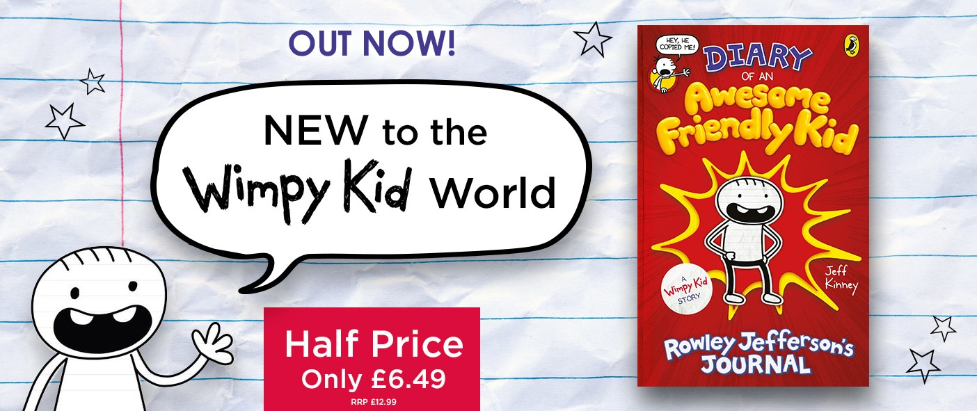 Diary of An Awesome Friendly Kid - Half Price
