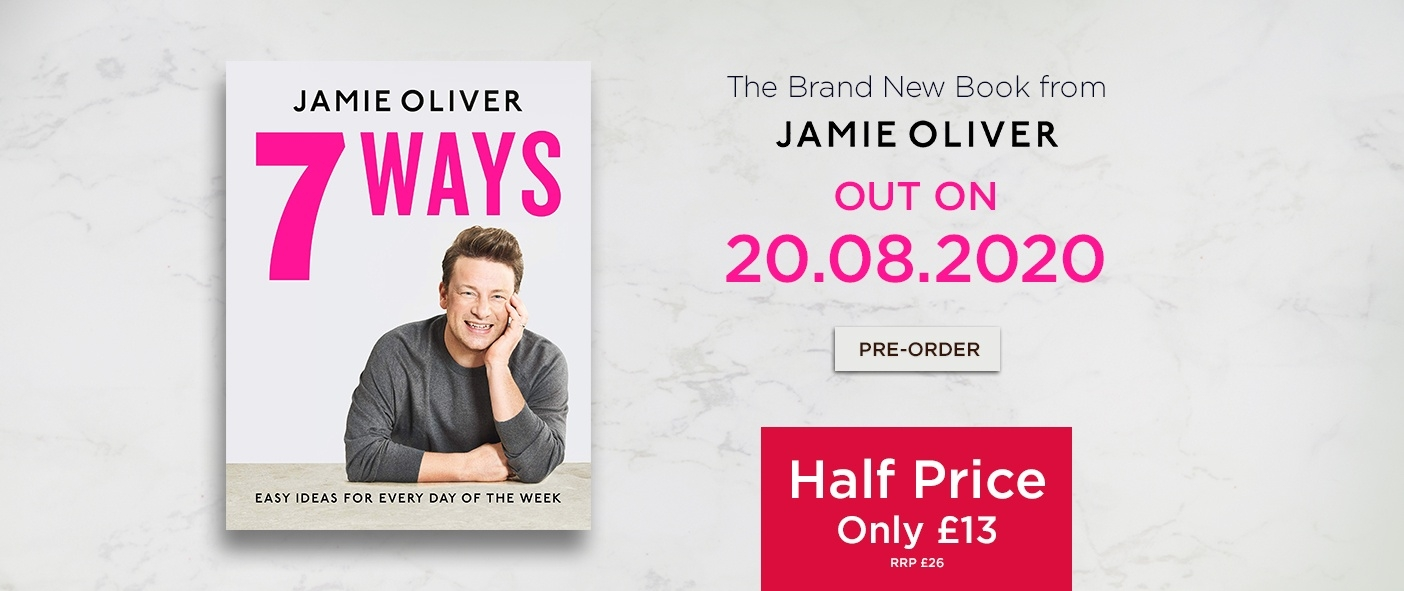 The NEW Book From Jamie Oliver - Half Price at Only £13