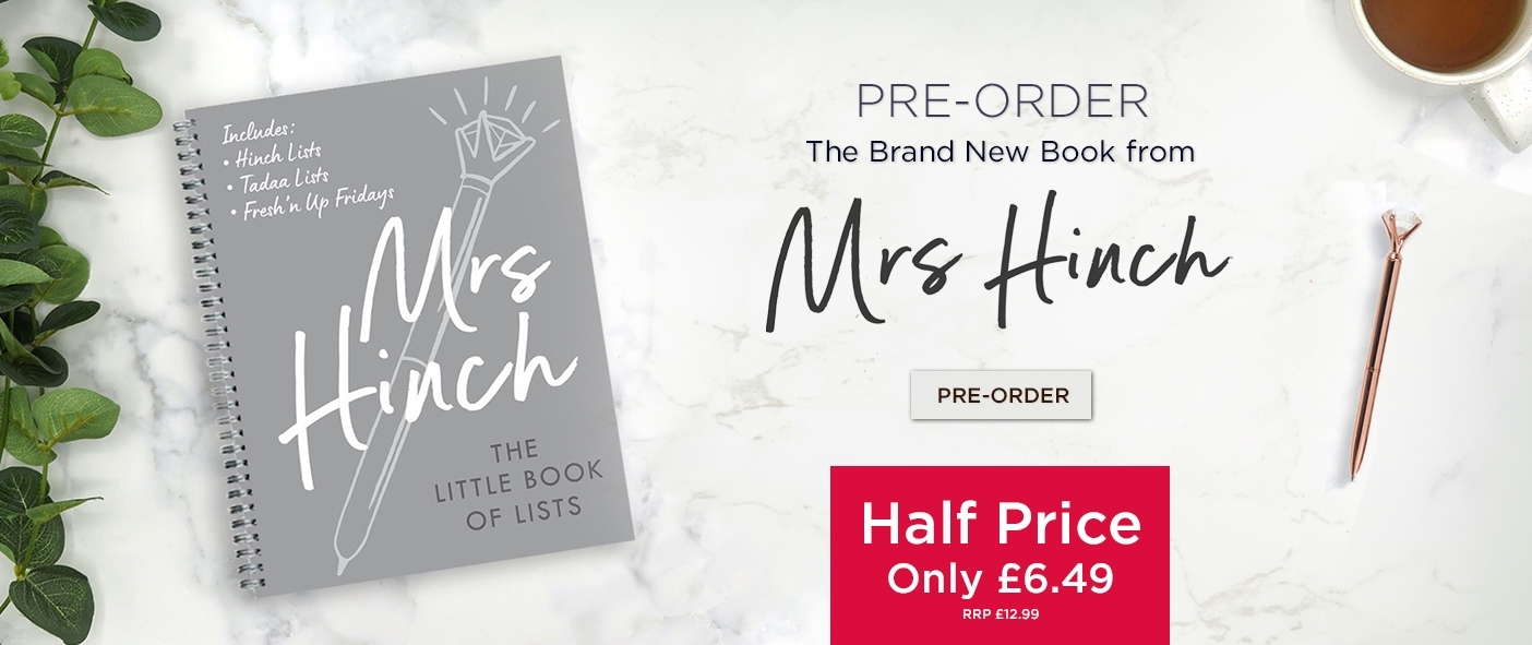 Pre-Order The NEW Mrs Hinch Now at Half Price