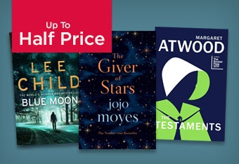 Up to Half Price Fiction Books