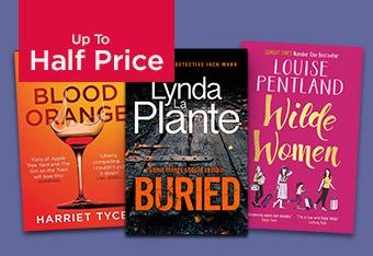 Up to Half Price Fiction Books