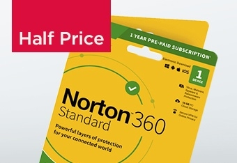 Norton 360 Deluxe 1 Device, Half Price Only £14.99
