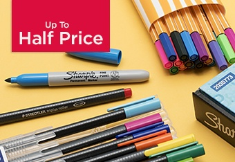 Up to Half Price Pen Multi-Packs