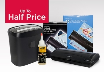 Up to Half Price Shredding & Laminating