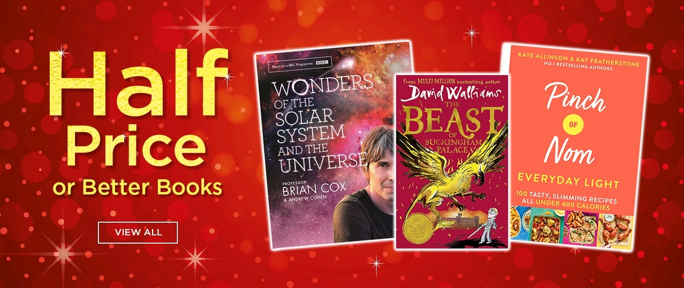 Half Price or Better on Selected Bestselling Books