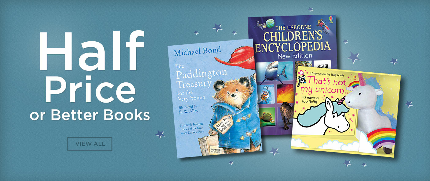 Half Price or Better Children's Books