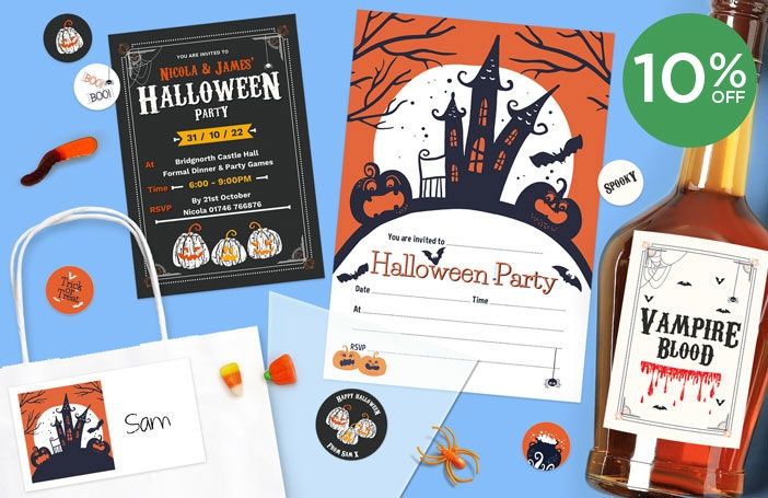 Personalised Halloween Stationery