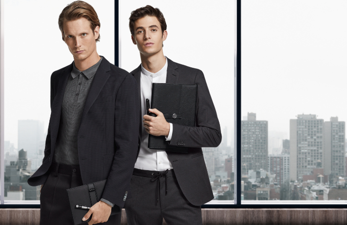 Create the Business Look with HUGO BOSS