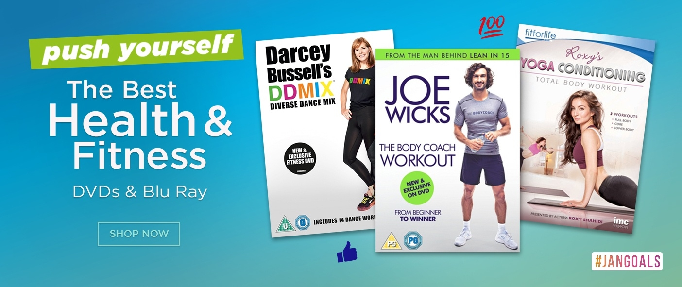 Great Value Health & Fitness DVDs