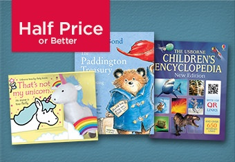 Half Price or Better Kids Books