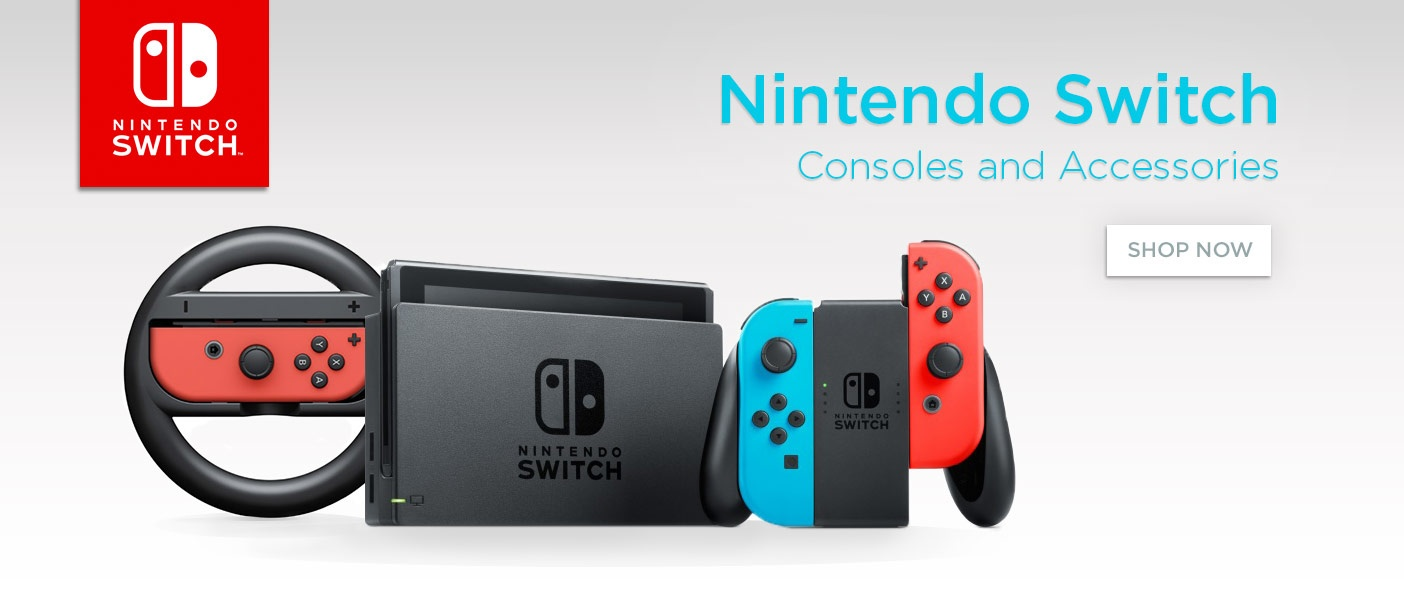 Nintendo Switch Consoles and Accessories