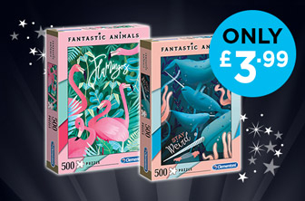 Fantastic Animals Jigsaw Puzzles Only £3.99