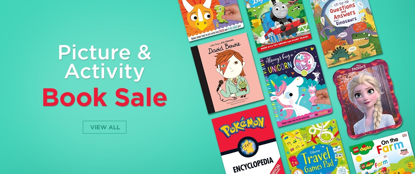 Children's Picture and Activity Book Sale