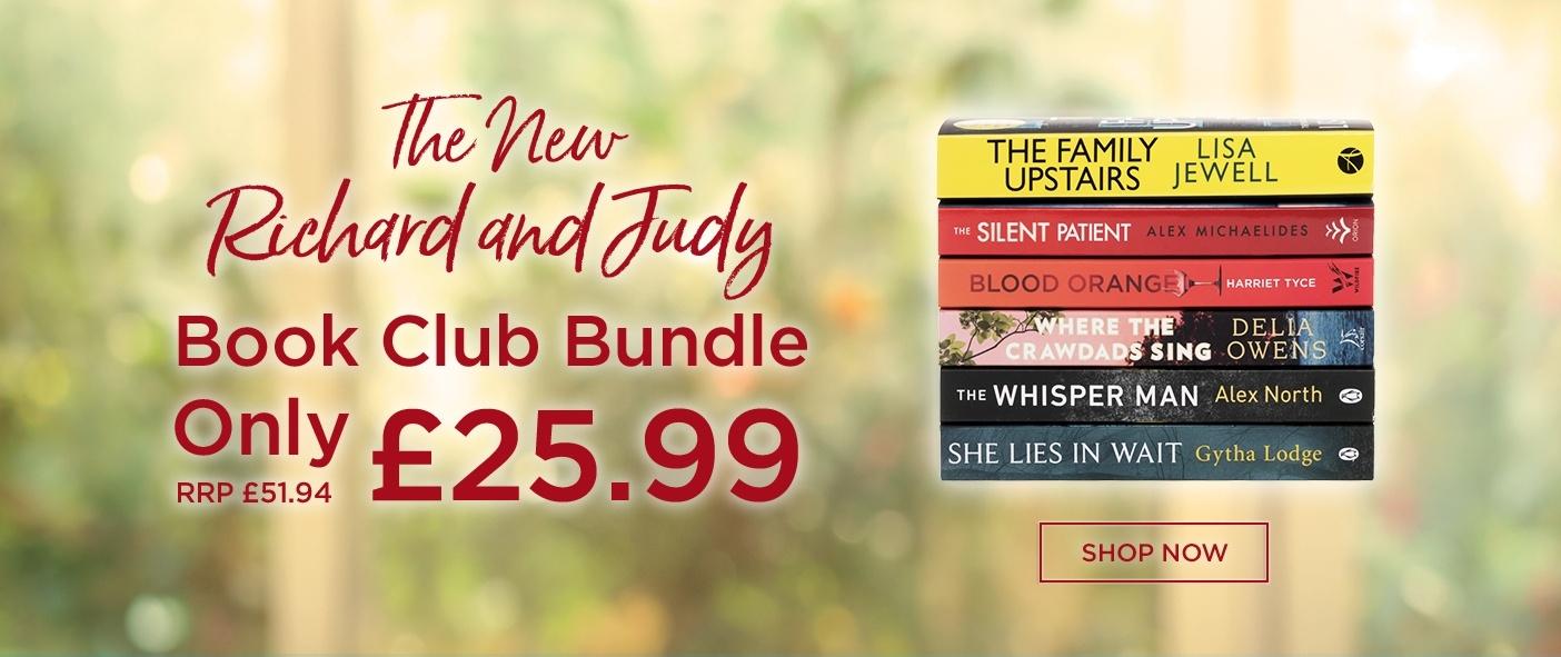 Save Big on the NEW Richard and Judy Book Club Book Bundle
