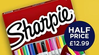 Half Price Sharpies!