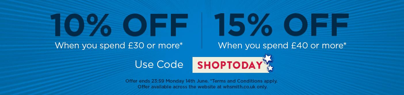 WHSmith Voucher Code