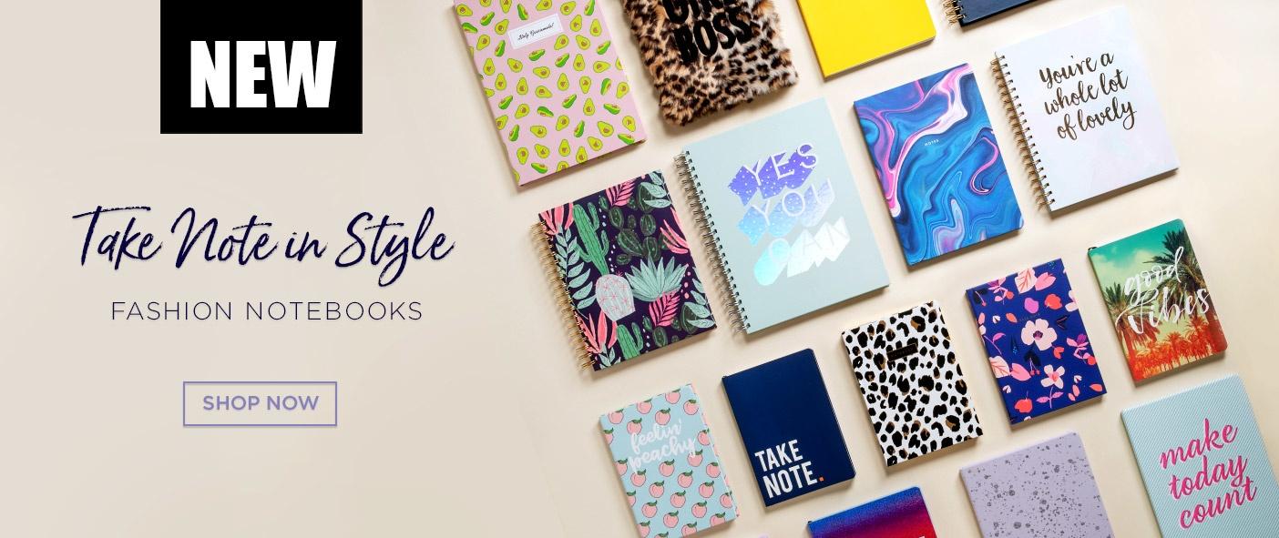 New Fashion Notebooks
