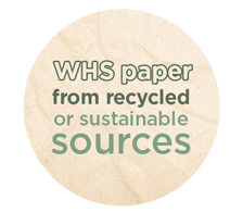 WHSmith Paper From Recycled Or Sustainable Sources