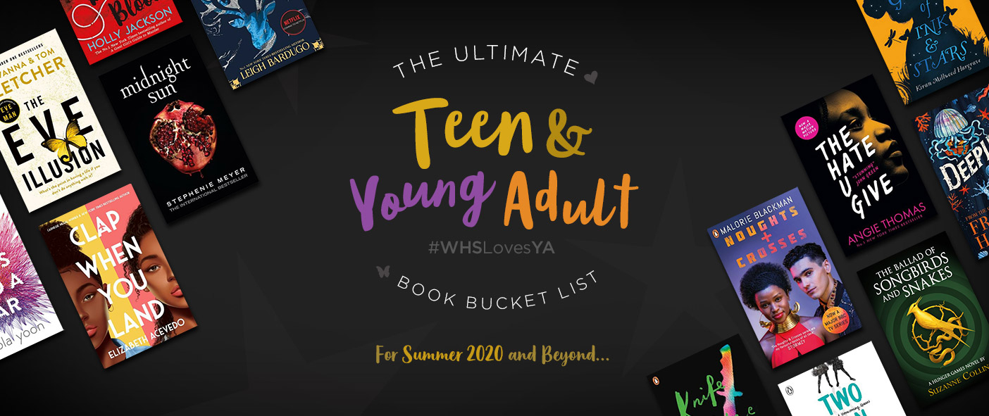 Teen and Young Adult Book Bucket List for Summer