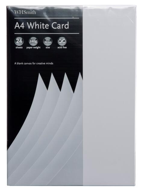 Wedding Card Making 30 Sheets of Premium 200gsm A4 White Craft Card Paper UK