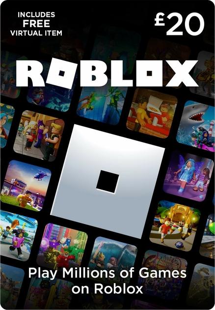 Roblox 20 Gift Card | WHSmith