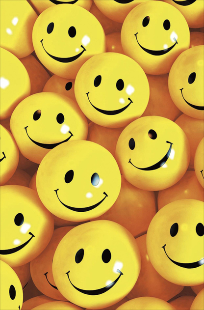 UK Greetings Camden Graphics Smiley Faces Blank Card | WHSmith