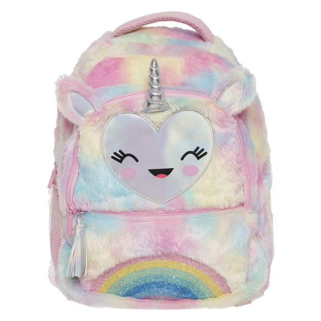 Drink holder Back To School Zip Pockets Hype Silver Holographic Lunch Box