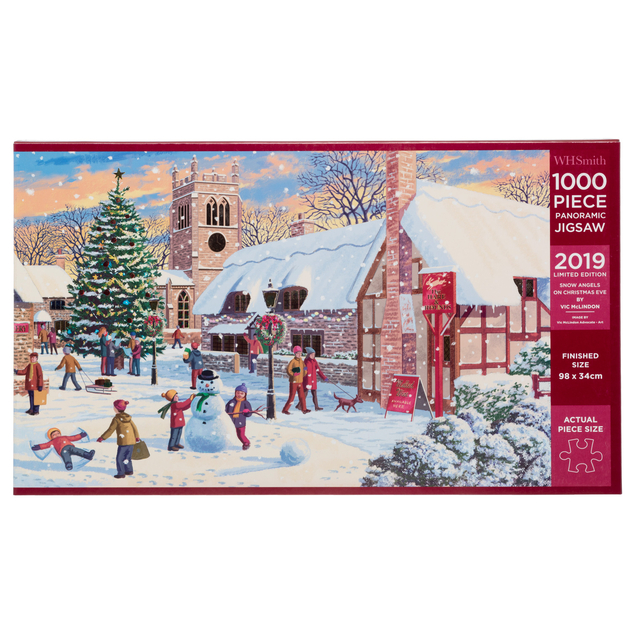 Which Organization Tracks Santas Flight On Christmas Eve.Jigsaw Puzzles Whsmith