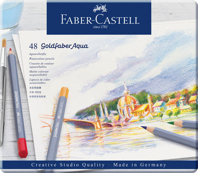 faber-castell creative studio goldfaber aqua water-soluble