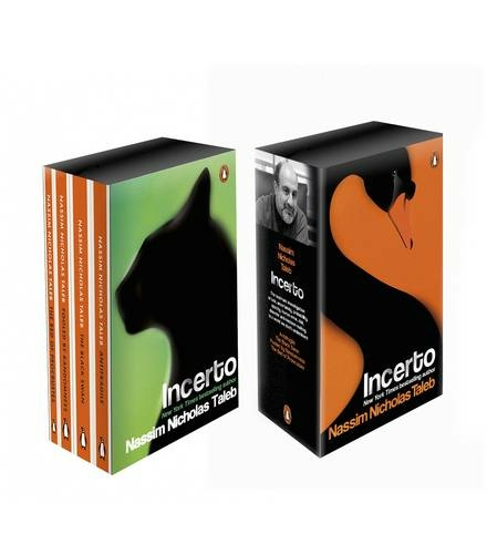 Incerto Box Set Antifragile, The Black Swan, Fooled by