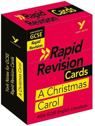 York Notes for AQA GCSE (9-1) Rapid Revision: A Christmas Carol - Refresh, Revise and Catch up ...