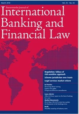 Butterworths Journal Of International Banking And Financial Law