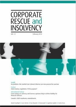 Corporate Rescue And Insolvency