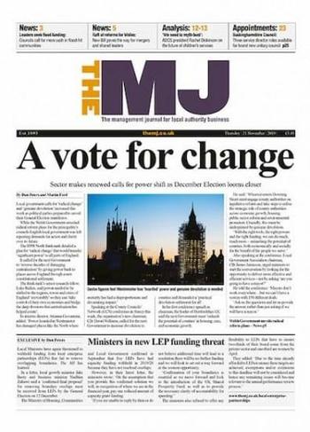 The Mj Municipal Journal