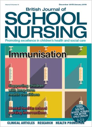 British Journal Of School Nursing