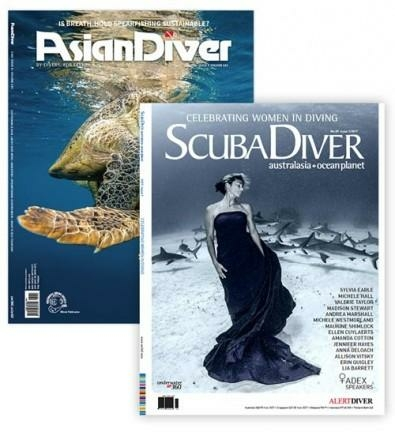 Asian Diver And Scuba Diver Australasia And Ocean Planet