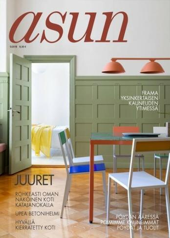 Asun Homes magazine