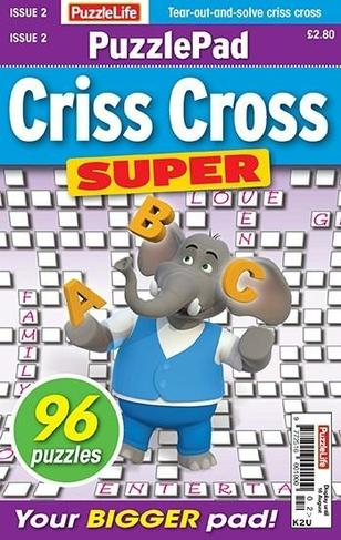 Puzzlelife Puzzlepad Criss Cross Super magazine