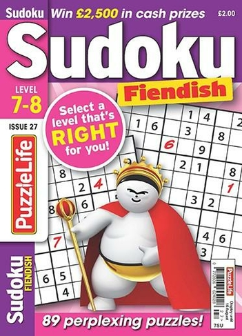 Puzzlelife Sudoku Fiendish 7 8