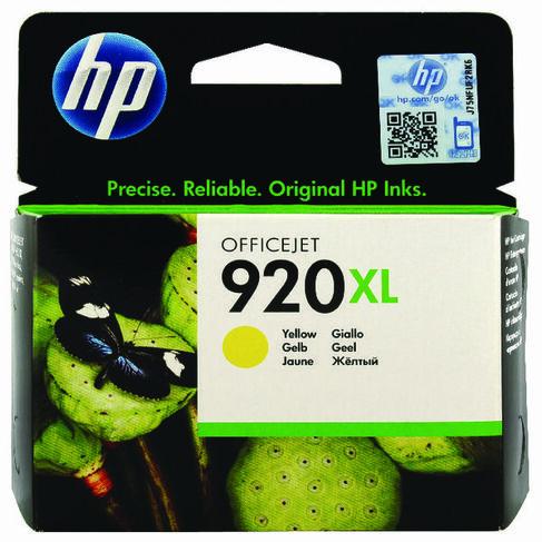CLEARANCE GENUINE HP HIGH CAPACITY YELLOW INK CARTRIDGE HP 920XL CD974AE