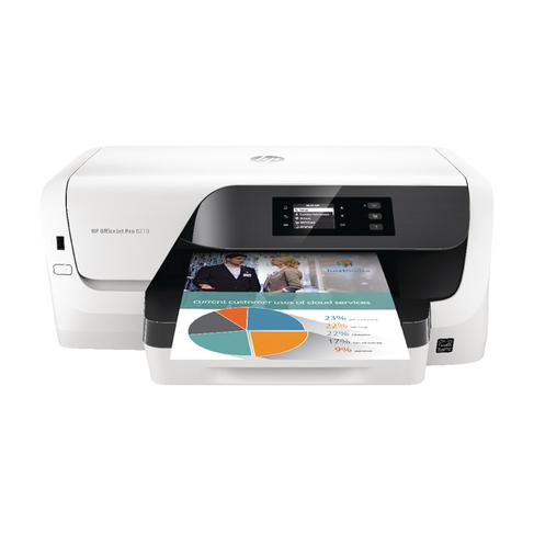 HP OfficeJet Pro 8210 Wireless Inkjet Printer