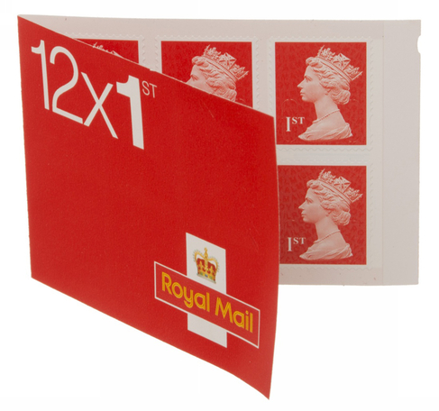 Royal Mail First Class Stamps (Pack of 12)